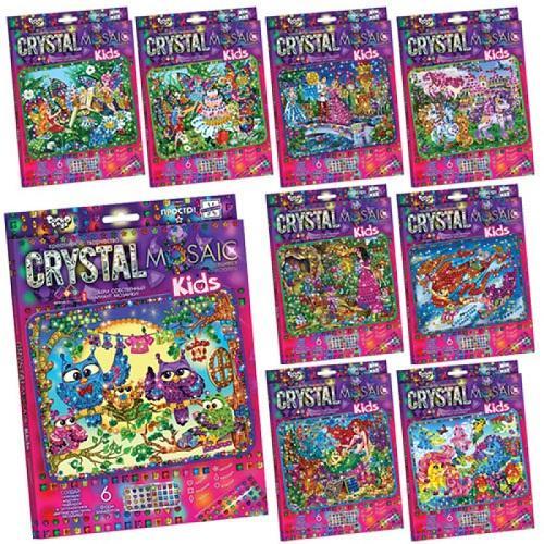 "Набор для творчества ""Crystal mosaic kids"", ДТ-ОО-09-09"