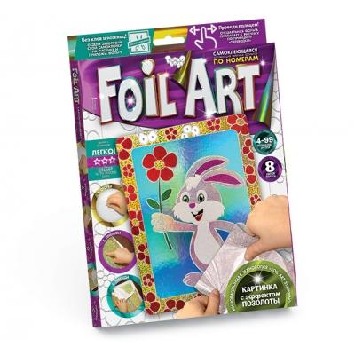 Набор креат-ого творч. Foil Art Аппликация цветн ф, ДТ-ОО-09-29
