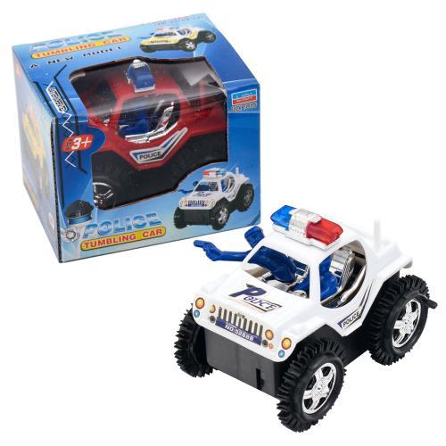 Машина 5288B-5588B (192шт) 11см,полиция, переверты, 5288B-5588B