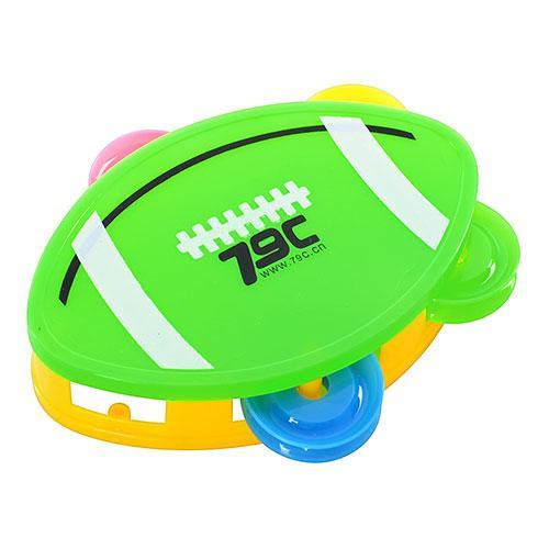 Бубен 8865 (576шт) мяч для регби, в кульке, 11,5-9, 8865