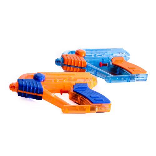 Водяной пистолет размер маленький, 18,5см, 2цвета, M 5576