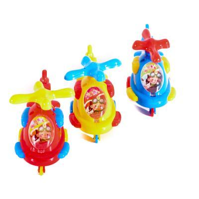 Заводной вертолет 3 вида,на колесиках