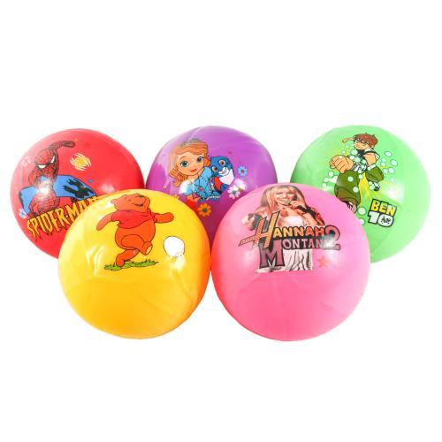 """Мяч резиновый """"Супергерои"""", 825-6"""