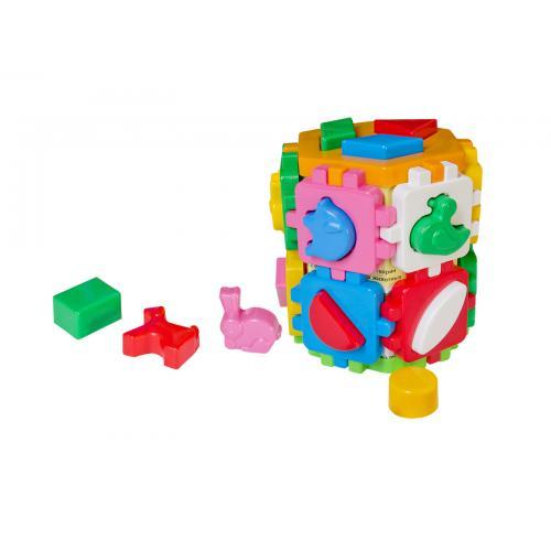 """Куб """"Розумний малюк"""" Конструктор, Техно 2001"""