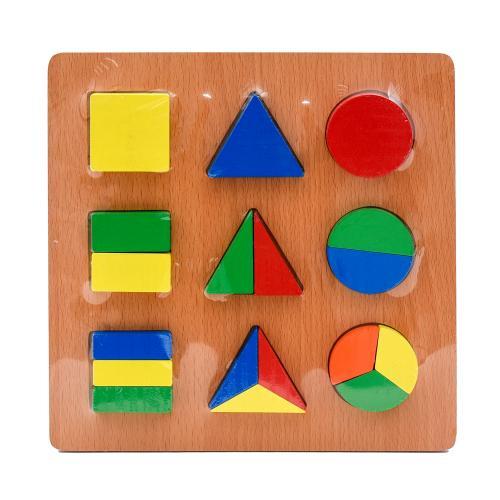 Деревянная игрушка-геометрика, SL-413-39