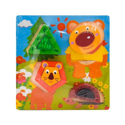 Деревянная игрушка-геометрика, SL-413-49
