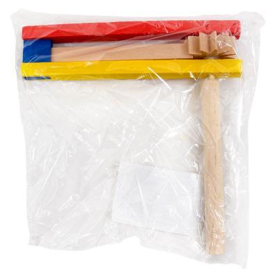 Деревянная игрушка-трещотка