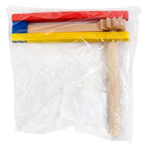 Деревянная игрушка-трещотка, SL-413-43