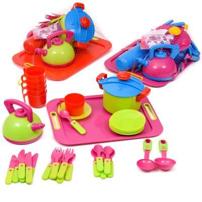 Посуда с подносом, 36 предметов