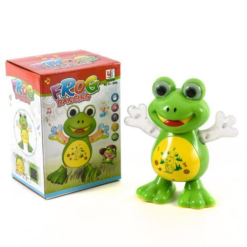 "Музыкальная игрушка ""Танцующая жабка"", YJ-3008"