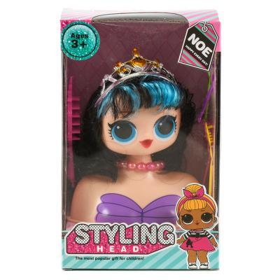 Кукла голова для причесок из серии OMG