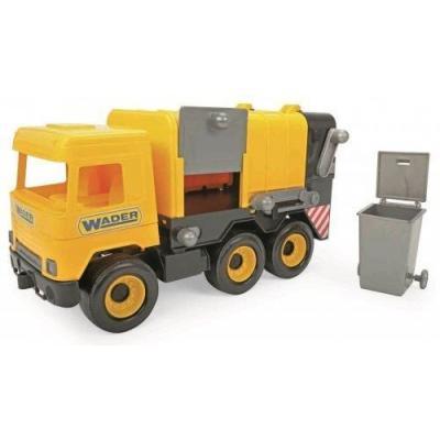 """Авто """" Middle truck"""" сміттєвоз (жовтий) в коробці"""