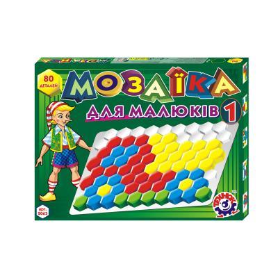 Мозаика для малышей, 80 деталей