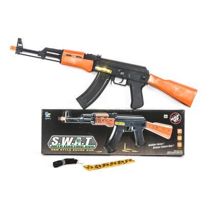 Автомат AK47-1 (48шт) 67см, водяные пули, мягк.пул