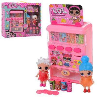 Кукла 777 (24шт) LOL, 2шт, 9см, игровой автомат 18, 777