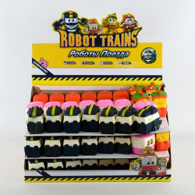 "Сквиш ""Робот Поезд"" (4 вида), PC925"