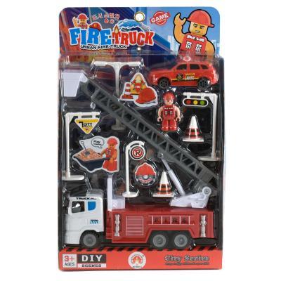Пожарный игровой набор, в слюде