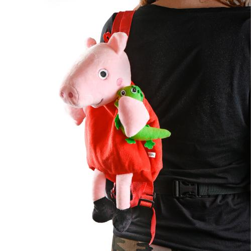 Рюкзак MP 1662 (30шт) PP, свинка,размер сред+, 28, MP 1662