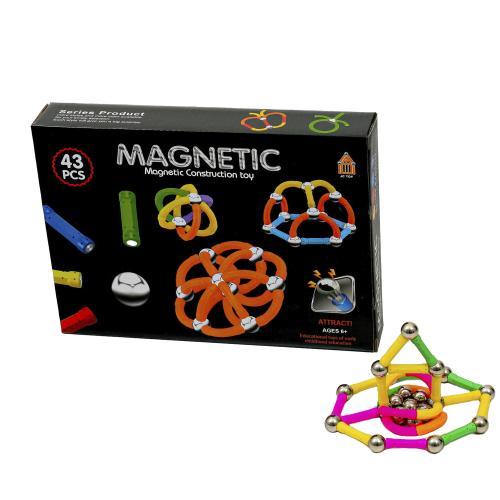 Конструктор магнитный, 43-48 деталей, AQ-755-56-57