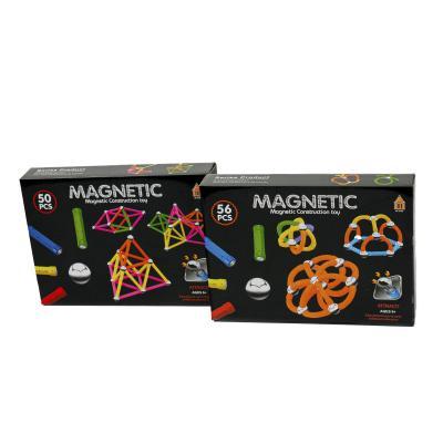 Конструктор магнитный, 50-56 деталей