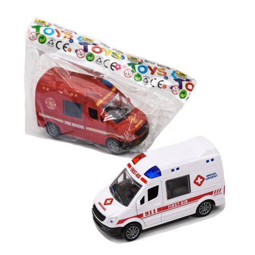 Спецтранспорт, инерционный (пожарная, скорая, полиция), JW567-019