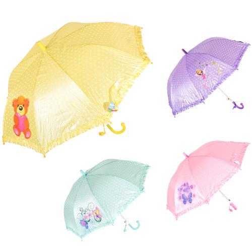 Зонтик детский MK 0208-1 (60шт) длина55см, трость6, MK 0208-1