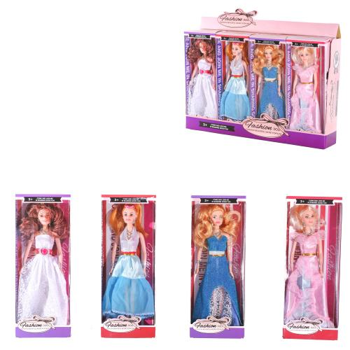 Кукла JB3801B-1-2 (144шт) 29см,2вида(1в- с сумочко, JB3801B-1-2