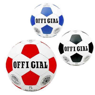 Мяч футбольный OFFICIAL 2500-203 (30шт) размер5,ПУ