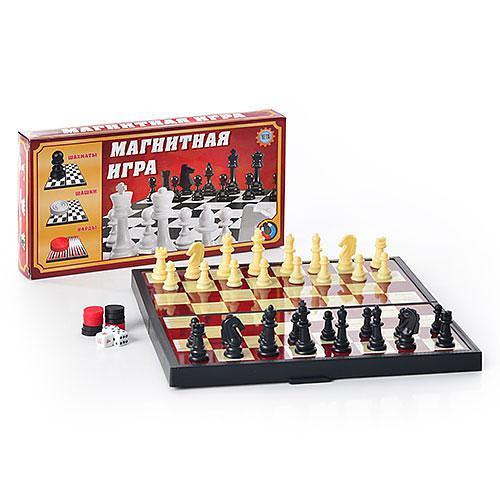 Шахматы 3 в 1, 9831