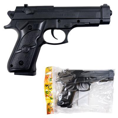 Пистолет 468-2 (144шт) на пульках, 18см, в кульке, 468-2