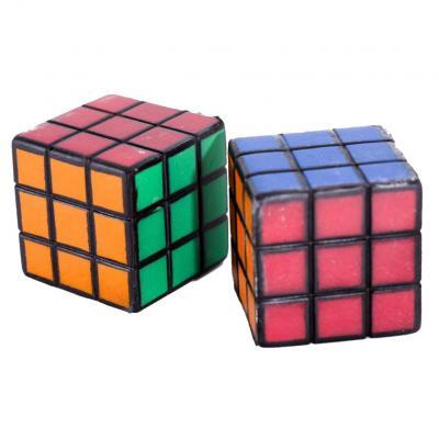 Мяч детский фомовый сквиши, 5,5см, кубик, 30г, в к