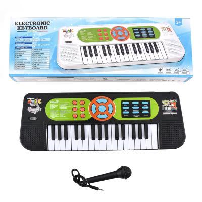 Музыкальный синтезатор, в коробке, большой