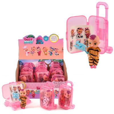 Пупсики, с аксессуарами, в чемодане, 052-2