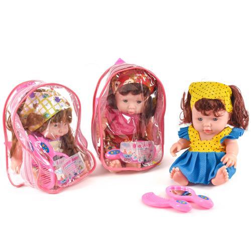 Музыкальная кукла, с аксессуарами, в рюкзаке, FL167-2