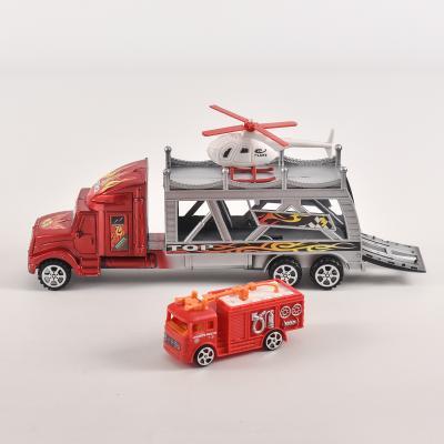Двухэтажный трейлер, с пожаркой, 999-6-144