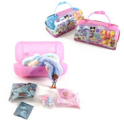 Набор кукол в чемодане