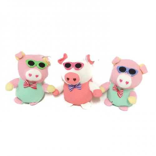 Мягкая игрушка MP 1700 (100шт) свинка, размер мале, MP 1700