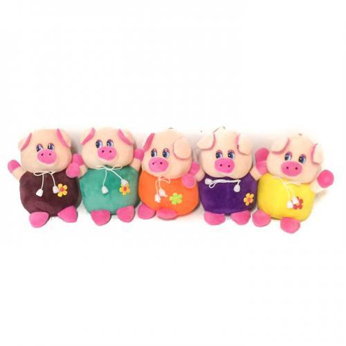 Мягкая игрушка MP 1701 (100шт) свинка, размер мале, MP 1701