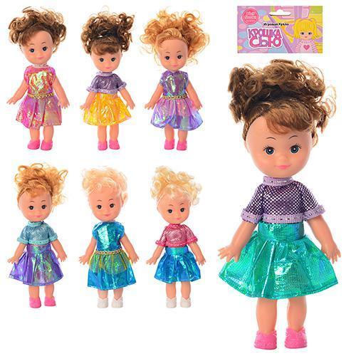 Кукла 6051-5062 (288шт) Крошка Сью, 17см, 7 видов, 6051-5062