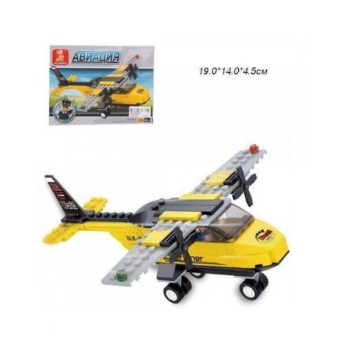 Конструктор SLUBAN M38-B0360 (72шт) авиация, самол, M38-B0360
