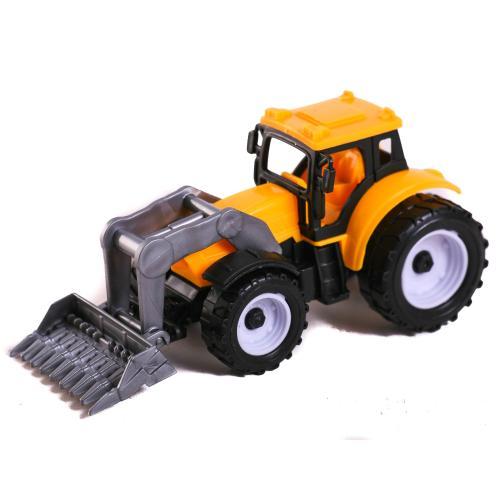 Трактор инерц.3вида,в пак 11*5,5*5см, DS-15A