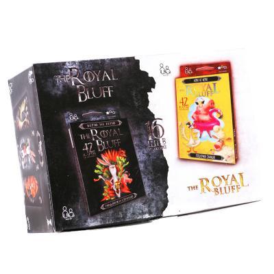"Карточная игра ""The Royal Bluff"".рус, ПР11895"