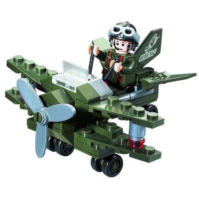 Конструктор BRICK самолёт-разведчик, 50 дет, в кор