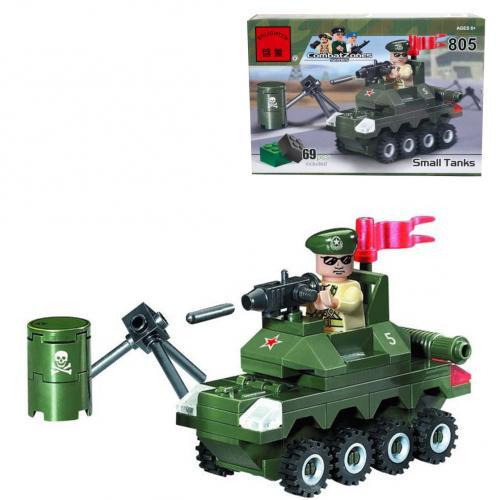 Конструктор BRICK, 805 BRICK