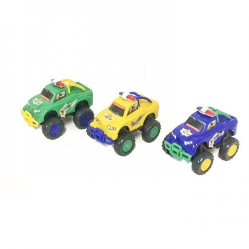 Джип 011 (360шт) заводной, полиция, 3 цвета, в кул, 011-1