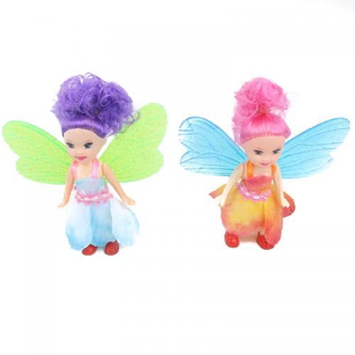 Кукла фея, 10см, микс цветов, в кульке, 10-10-2см, 2220