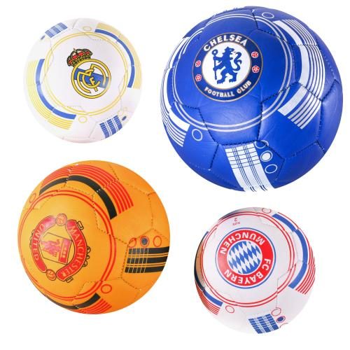 Мяч футбольный MS 1661 (100шт) размер 2, ПВХ, 2,7м, MS 1661