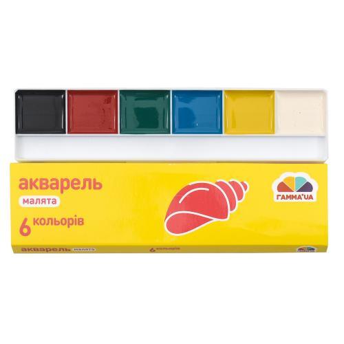 """Акварель """"Малыши"""", 6 цветов (цена за упаковку), GA-100101"""