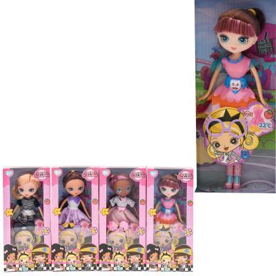 Кукла в коробке,пять видов в упаковке, 0191
