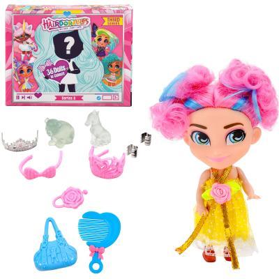 Кукла сюрприз,HairDorables Doll, четыри вида в упа